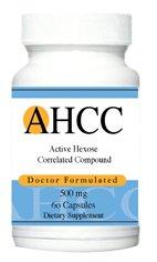 Médecin de Advance Formules AHCC de Hexose Composé actif corrélée Kinoko 500 mg, 60 capsules