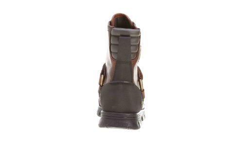 Polo Ralph Lauren Conquest III Mens Leather Duck Boot M Br/M Br Pistorp/Timber DQmIg7