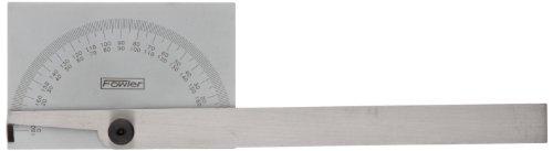 Fowler 52-450-005 Steel Protractor with Semi Circular Head