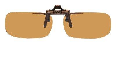 8a3d05f6e1c Amazon.com  Polarized Bronze Metal Clip On Flip Up Brown Sunglass Lenses