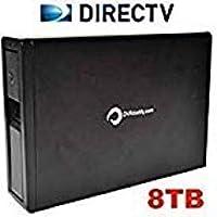 DVRdaddy 8TB External DVR Hard Drive Expander For DirecTV HR34, HR44, and HR54 Genie DVR. +8,000 Hours Recording Capacity!