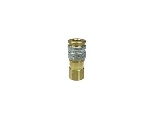 Coilhose Pneumatics 110 1/4-Inch Body Size, Megaflow Automatic High Flow Coupler, 1/4-Inch NPT, Female from Coilhose Pneumatics