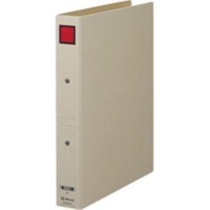 【クリックで詳細表示】( お徳用 10セット ) キングジム 保存ファイルドッチ 4073 A4S 30mm 灰/赤