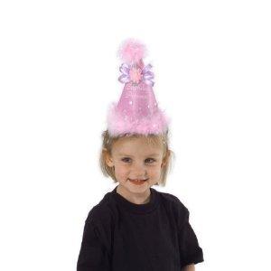 elope Birthday Princess Cone pink