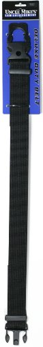 Uncle Mike's Kodra Nylon Web Deluxe Duty Belt (X-Large, Black)