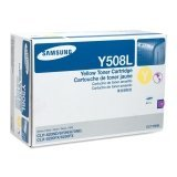Samsung CLT-Y508L Toner Cartridge, High Yield, Yellow