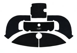 (Yamaha Jet Boat Exterior Traction Mats 2006-2011 AR210,SX210 / 2006-2007 SR210 / 2008-2010 212X,212SS (Black Groove))