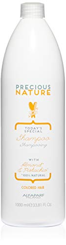 Alfaparf Milano Precious Nature Color Protection Hair Shampoo - Sulfate Free - Sweet Almond Oil and Pistachio Essence - Color Safe - Professional Salon Quality - 33.81 fl. oz. ()