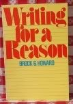 Writing for a reason