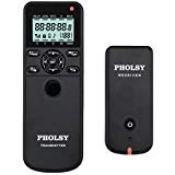PHOLSY Wireless Timer Remote Control with Intervalometer and HDR C6 C8 Shutter Remote Release Cord for Canon Pentax Fujifilm Samsung Contax Sigma Cameras