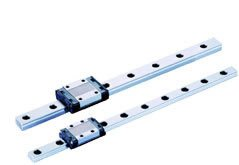 Caged Ball Miniature - THK Linear Motion Guide Model SRS-WM, Single Block, Caged Ball Miniature, Outer Dimensions: 12mm Height, 30mm Width, 39mm Length, Rail: 18mm Width, 7.5mm Height, 30mm Pitch, 170mm Length, Load Capacity: 751 Pound-Force