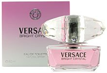 Versace Bright Crystal By Versace for Women Eau-de-toillete Spray, 1.7 Ounce