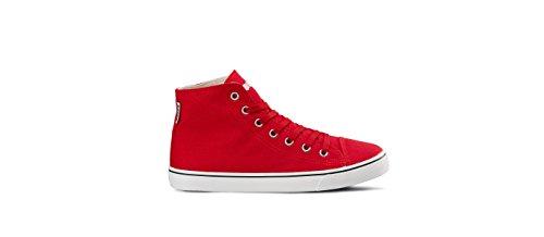 Red Ribbon w Running Diadora Sneaker Damen C rot High Schuh Clipper Jogging vqZzf