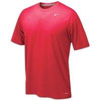 Nike Men's Legend Short Sleeve Tee, Scarlet, ()