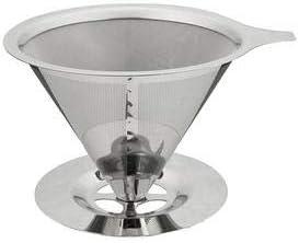 Coador Filtro de Café em Aço Inox .- Não usa Papel!