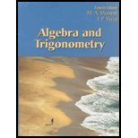 Algebra and Trigonometry, Munem, Mustafa A. and Yizze, James P., 075752124X