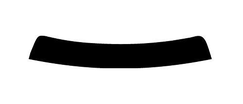 PSSC Pre Cut Sun Strip Car Window Films for Honda Civic 5 Door 2012 to 2016 20/% Dark Tint