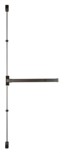 Vertical Rod Device (Copper Creek V9560F-DB-48 Fire Rated Grade 1 Vertical Rod Exit 48-Inch Wide Dura, Bronze)