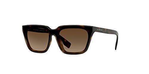 - Burberry Women's 0BE4279 Dark Havana/Brown Gradient One Size