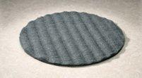 17 inch METRIX Flat Steel Wool Pads Grade 0 CASE of 12