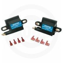 Dynatek Miniature Series Coil - 3.0 ohm - Dual-Tower - Single Fire - Dual Plug DC1-2 -