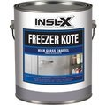 COMPLEMENTARY COATINGS FK1310099-01 INSL-X Freezer Kote White High-Gloss Enamel, 1 gallon, White