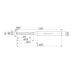 12XD MBH388818 #76 Size Mitsubishi MWS00200XB ALTiN Coating Solid Carbide Internal Coolant Drill MWS Series PART NO
