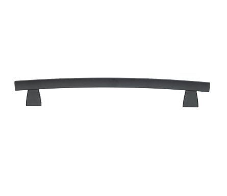 Top Knobs TK7BLK Arched Appliance Pull