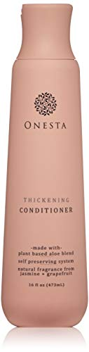 Onesta Hair Care Thickening Conditioner – Organic Conditioner for Fine or Thinning Hair – Moisturize & Repair – Plant…