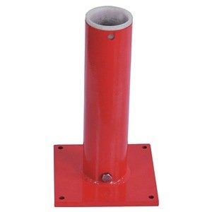 Mounting Component Pedestal Base - Mounting Base, Pedestal/Socket, 500 lb, Red