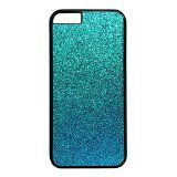 Iphone 6 case,Iphone 6s case,Teal Blue Glitter design Case Cover for Iphone 6 in PC Material