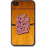 So Fresh and So Clean Quote on Basketball Court Design case for iPhone 4 4S (Quotes Case Basketball Iphone 4s)