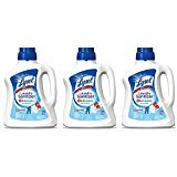Lysol Laundry jCgeT Sanitizer Additive, Crisp Linen, 90 Ounce (3 Pack)