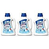 Lysol Laundry jCgeT Sanitizer Additive, Crisp Linen, 90 Ounce (3 Pack)