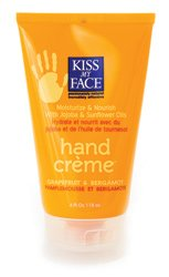Kiss My Face Hand Creme Grapefruit plus Bergamot 4 oz