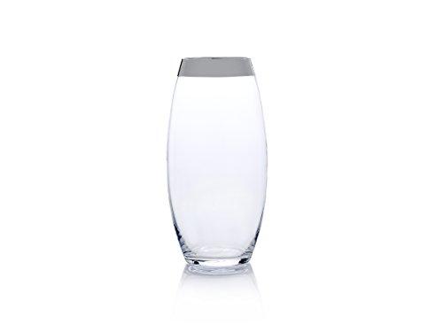 (Mikasa Serenity Platinum 13.75-Inch Teardrop Glass Vase)