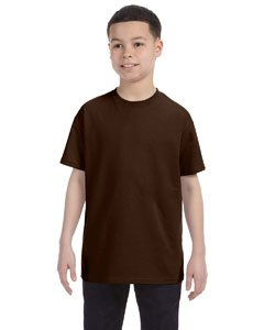 Jerzees Youth Heavyweight BlendT-Shirt - Chocolate - (Youth Chocolate)
