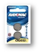Coin Ion Cell Lithium - Rayovac Lithium Ion CR2032 3-Volt Coin Cell Battery