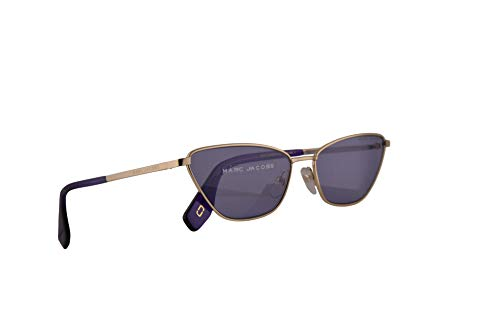 Marc Jacobs Marc 369/S Sunglasses Gold w/Violet Lens 57mm B3VUR Marc 369S Marc369S Marc369/s ()