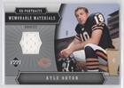 Kyle Orton (Football Card) 2005 Upper Deck Portraits - Memorable Materials - Upper Portraits Deck 2005