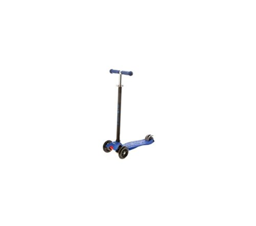 Maxi Micro Kick Scooter - Blue with T-bar