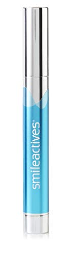 Smileactives - Advanced Teeth Whitening Pen - Hydrogen Peroxide Treatment with Vanilla Mint Flavor - Travel Size 0.11 Ounce