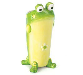 Toby the Toad Frog Flower Vase/Planter Cute Collectible Inexpensive Gift by Toby The Toad Collection