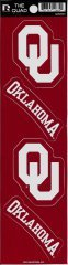 Rico NCAA Oklahoma Sooners Quad Decal