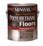 (Minwax 13020000 Super Fast-Drying Polyurethane For Floors, 1 gallon, Gloss)