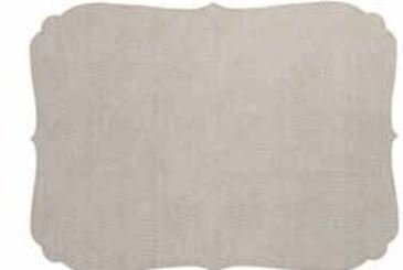Bodrum Curly Oatmeal EasyCare Placemats, set of 6 by Bodrum (Image #1)