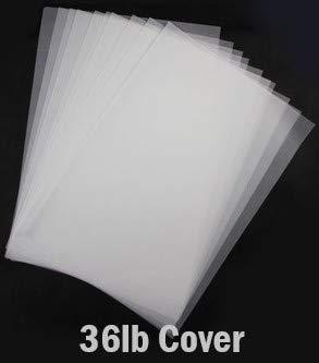 Hamilco White Translucent Paper Sheets 8 1/2 x 11