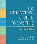 The St. Martin's Guide to Writing Short w/ Premium Student Access w/ E-book