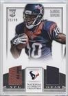 DeAndre Hopkins #71/99 (Football Card) 2013 Panini National Treasures - Rookie NFL Gear Materials - Dual - Treasure Ball
