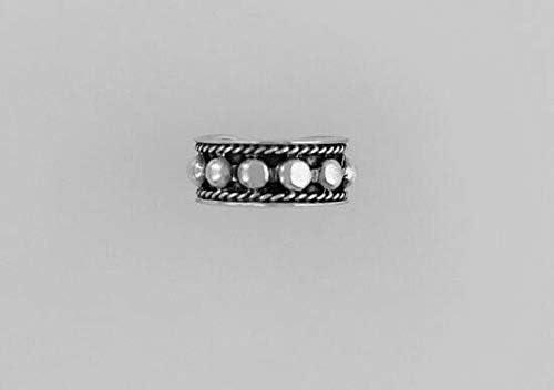 Sterling Silver 12mm Silver Bullet Ear Cuff from D&J